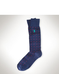 Polo Ralph Lauren Dotted Cotton Pony Socks