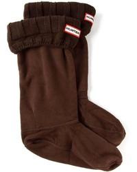 Hunter Ribbed Trim Boot Socks