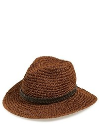 Sole Society Woven Wide Brim Straw Hat
