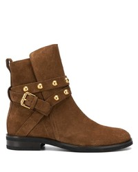 See by Chloe See By Chlo Flat Ankle Boots With Studs