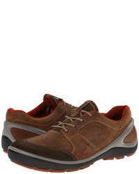 Brown Suede Athletic Shoes