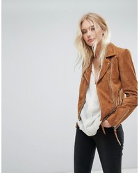 Lab Leather Lab Suede Biker Jacket