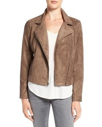Venita faux suede moto jacket medium 834659