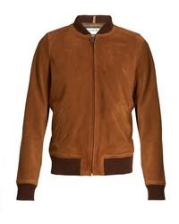 Patty suede bomber jacket medium 781827