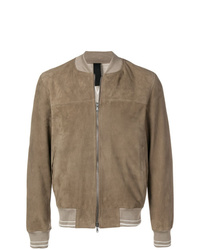 Orciani Textured Bomber Jacket