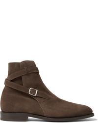 Abbott suede jodhpur boots medium 642215