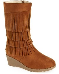 KensieGirl Girls Kensie Girl Fringe Boot