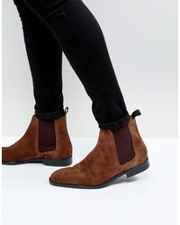 Paul Smith Ps By Gerald Suede Boot In Camel