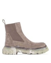 Rick Owens Bozo Tractor Beetle Chelsea Boots