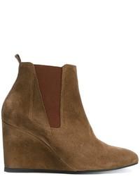 Lanvin Chelsea Detail Wedge Boots
