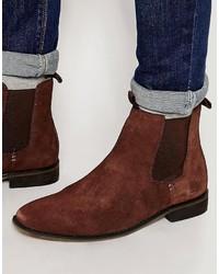 Bellfield Suede Chelsea Boots