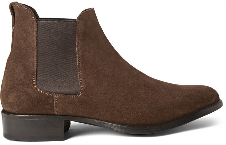 Tom Ford Suede Chelsea Boots, £1,238