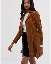 Goosecraft Suede Trend Coat