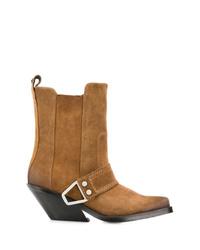 Diesel Western Block Heel Boots
