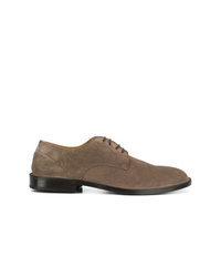 Green George Suede Derby Shoes