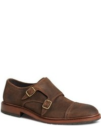 Langley double monk strap shoe medium 800876