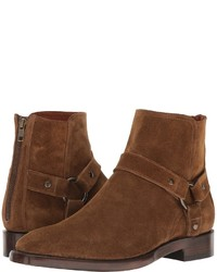 Brown Suede Dress Boots