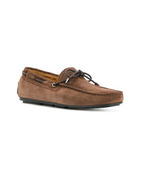Santoni Lace Up Loafers