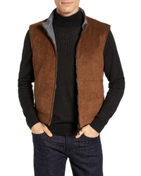 Brown Suede Gilet