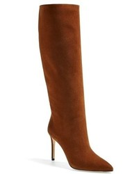 Brooke suede pointy toe boot medium 107025