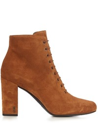 Babies lace up suede ankle boots medium 959698