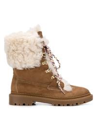 Casadei Shearling Tall Boots