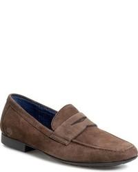 Brn dave penny loafer medium 783687