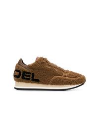 Philippe Model Etoile Shearling Sneakers