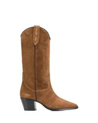 Paris Texas Mid Calf Heel Boots