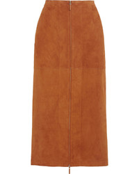 351955249c Joseph Clan Suede Midi Skirt Out of stock · The Row Kima Suede Skirt The  Row Kima Suede Skirt Out of stock · Dagmar Dia Paneled Leather And Suede  Pencil ...