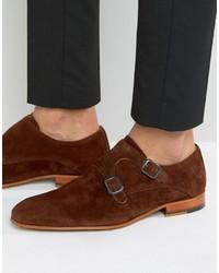 Zign suede monk strap shoes medium 3706650