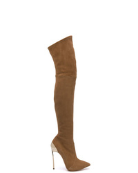 Casadei Blade Over The Knee Boots