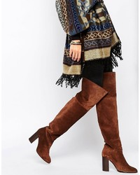 Suede over the knee boot medium 832623