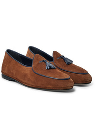 Rubinacci Marphy Suede Tasselled Loafers