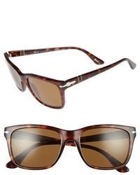 Persol 50mm Polarized Sunglasses Black