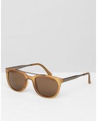 A. J. Morgan Aj Morgan Round Sunglasses With Brow Bar