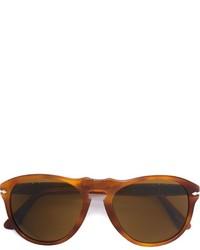 Persol Aviator Frame Sunglasses