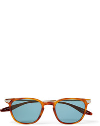 Barton Perreira Dean Square Frame Acetate And Gold Tone Sunglasses