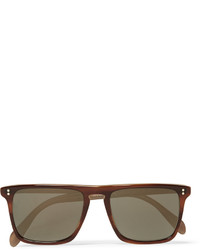 Oliver Peoples Bernardo Square Frame Acetate Polarised Sunglasses