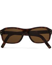 Kingsman Cutler And Gross Square Frame Tortoiseshell Acetate Sunglasses