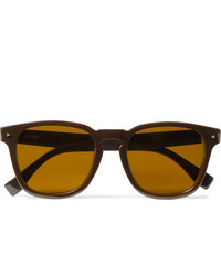 Fendi D Frame Acetate Sunglasses
