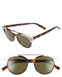 Christian Dior Dior Black Tie 51mm Sunglasses Havana