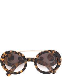 Prada Eyewear Baroque Frame Sunglasses