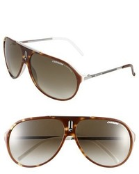 Carrera Eyewear Hots 64mm Aviator Sunglasses