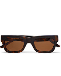 Sun Buddies Greta Square Frame Tortoiseshell Acetate Sunglasses