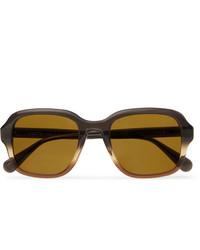 Moscot Megillah Square Frame Gradient Acetate Sunglasses