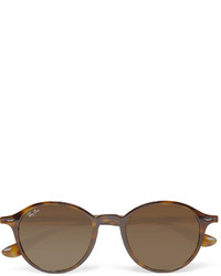 Ray-Ban Round Frame Tortoiseshell Acetate Sunglasses