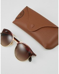 Ray-Ban Round Sunglasses In Tort 0rb3545
