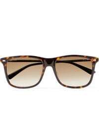 Gucci Square Frame Tortoiseshell Acetate Sunglasses