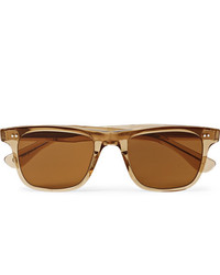 Garrett Leight California Optical Wavecrest Square Frame Acetate Polarised Sunglasses